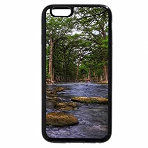 iPhone 6S / iPhone 6 Case (Black) guadalupe river in the texas hill country