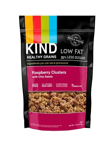 Raspberry Clusters with Chia Seeds 11 Ounces (Case of 6)