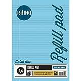RHINO A4 tintados Especial Papel Educación Refill Pad - Azul