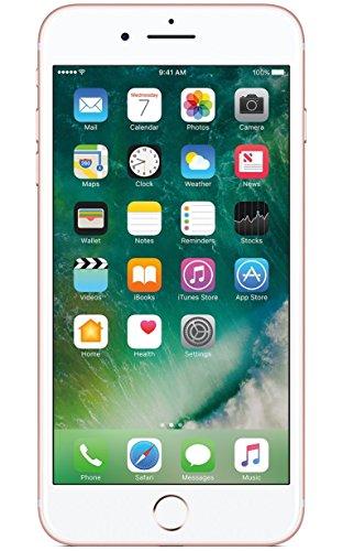 Apple iPhone 7 Plus, T-Mobile, 128GB - Rose Gold (Renewed)