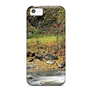 BestSellerWen Snap On Hard Stone Cottage By The River Protector Case Cover For Ipod Touch 4