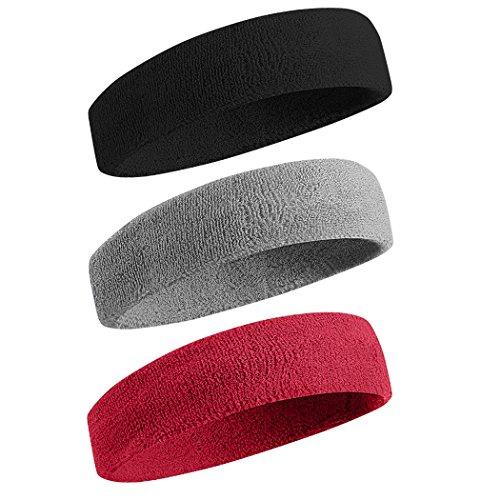 BEACE Sweatbands Sports HeadbandWristband