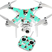 Skin For DJI Phantom 3 Standard – Cool Corgi | MightySkins Protective, Durable, and Unique Vinyl Decal wrap cover | Easy To Apply, Remove, and Change Styles | Made in the USA