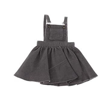 Amazon.es: 1/6 Mini Vestido de Tirante Falda Volante para BJD ...