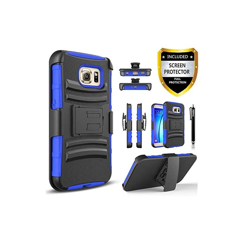 Circlemalls Galaxy S6 Case, with [Premiu