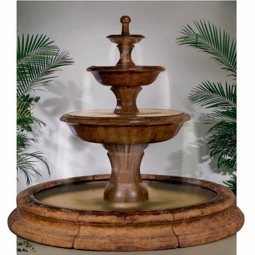 Henri Studio Grande Barrington Fountain In Toscana Pool - Brown