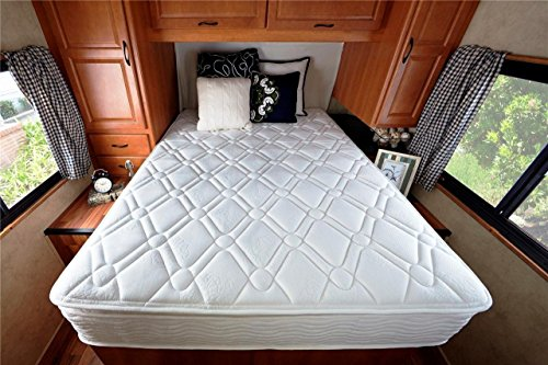 Zinus-Deluxe-Spring-10-Inch-Pillow-Top-RV-Camper-Trailer-Truck-Mattress-Short-Queen