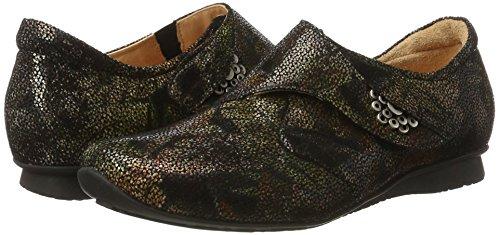 09 Chilli Kombi Women''s sz Loafers Black Think x45qwpYp