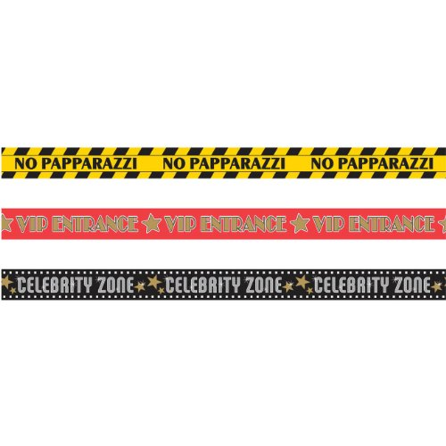 Hollywood Glossy Plastic Party Tape, 30' long]()