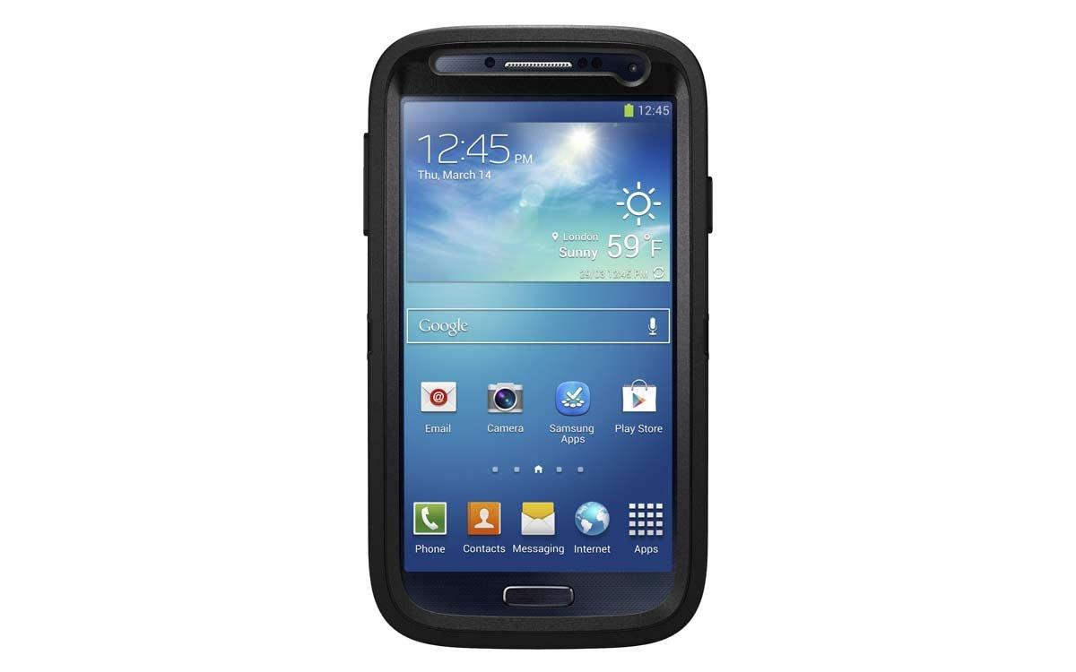 Otterbox Defender - Funda para Samsung Galaxy S4, Negro