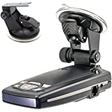 ChargerCity Car Dashboard & Windshield Suction Cup Mount Holder for Escort Passport 9500ix 9500i 8500 8500x50 S55 S75g Solo S