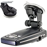 ChargerCity Car Dashboard & Windshield Suction Cup Mount Holder for Escort Passport 9500ix 9500i 8500 8500x50 S55 S75g…