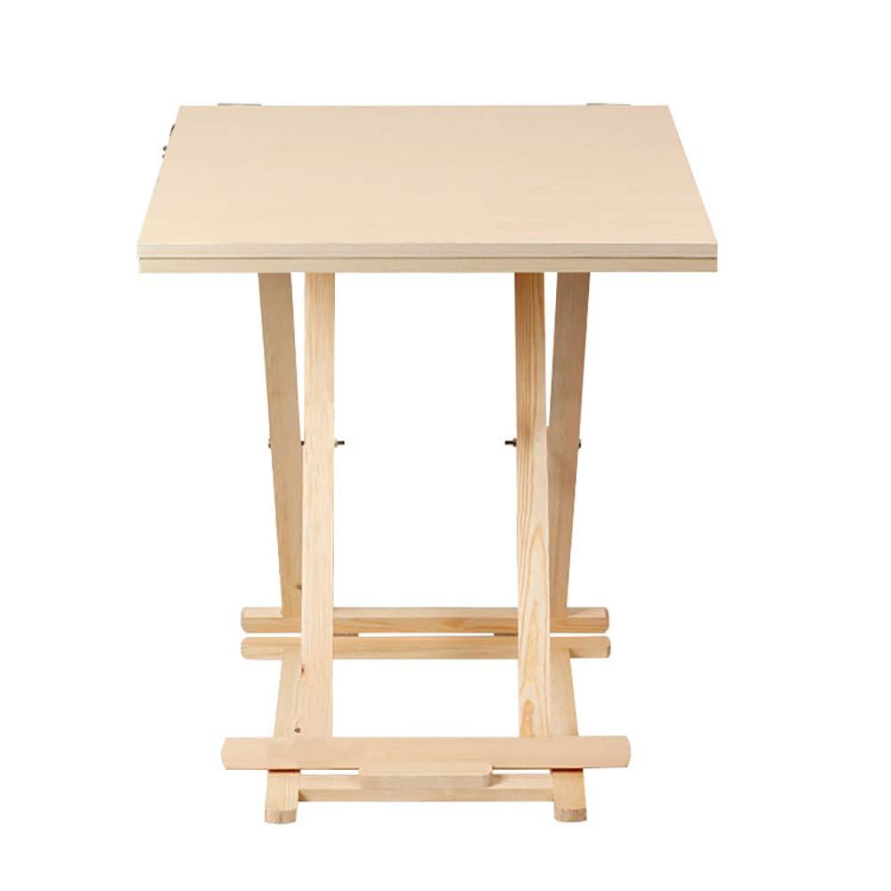 Super Kh® 静物テーブル木製折りたたみ/スケッチ絵画スケッチテーブル/石膏テーブルアートルームマッチング (サイズ さいず : 60x60x130cm) 60x60x130cm  B07ML5LV9K