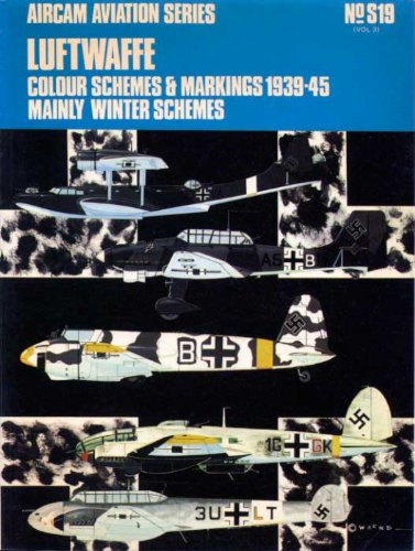 Luftwaffe Colour Schemes and Markings, 1939-45: v. 3 (Aircam Aviation)