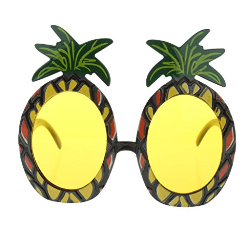 TRIXES Tropical Fancy Dress Pineapple - With Pineapple Sunglasses