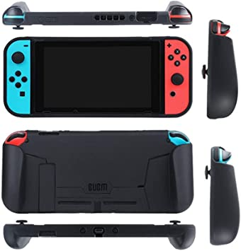 Mumuj Carcasa de silicona para consola de Nintendo Switch con ...
