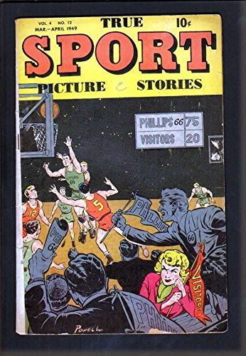 TRUE SPORT PICTURE STORIES v4 #12 4.5 VG STREET SMITH BOB POWELL - Stores Street Fillmore