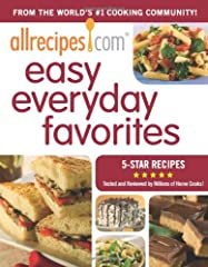 When there's barely time for a homemade meal-much less time for mistakes- millions of home cooks turn to allrecipes.com for reliable, quick, and easy recipes that taste great. Now they can grab a book filled with only five-star recipes from t...