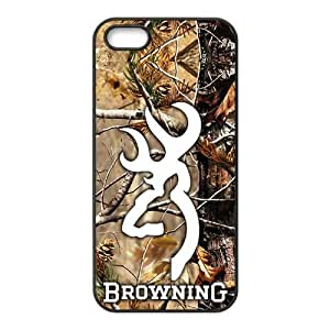 Browning Fashion Comstom Plastic case cover For Iphone 5s by runtopwell