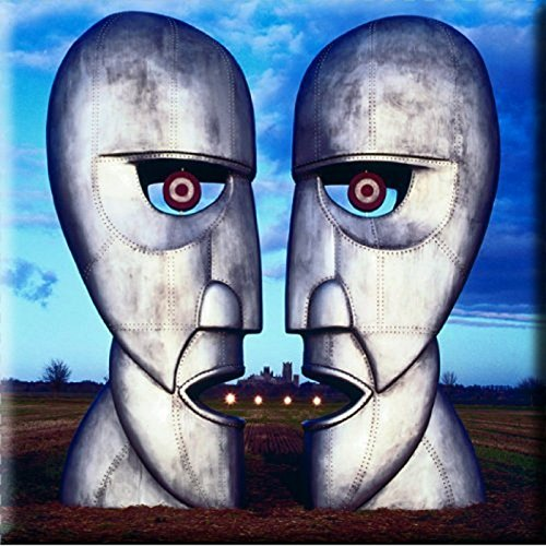 Pink Floyd Fridge Magnet The Division Bell Metal Heads Official 76Mm X 76Mm