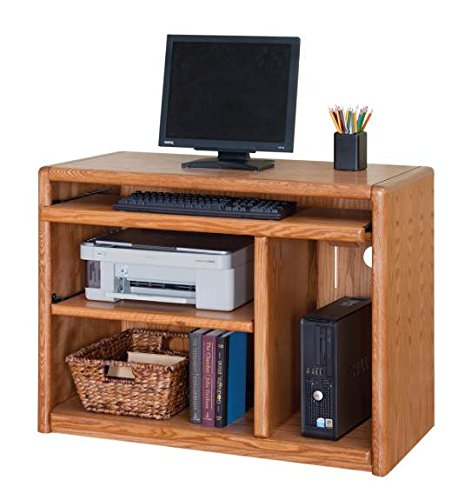 (Martin Furniture Contemporary Computer Cart, Fully Assembled)