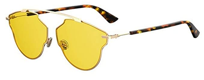 227df3a426 Image Unavailable. Image not available for. Color  New Christian Dior So  Real Pop 000 HO Gold havana yellow Sunglasses