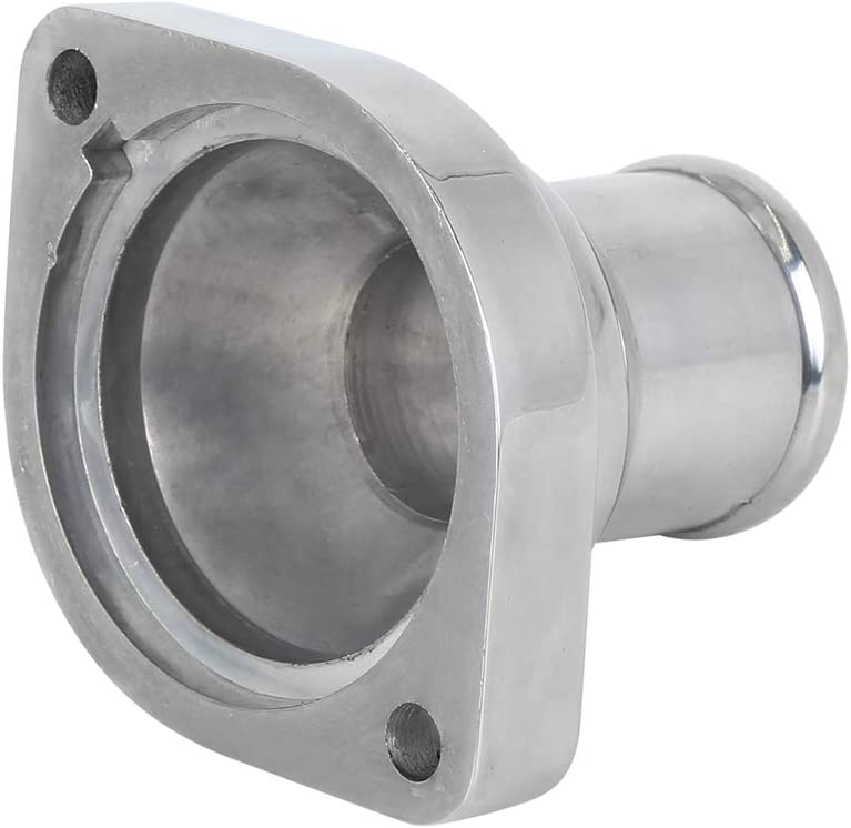 180 Degree X AUTOHAUX Aluminum Water Neck Thermostat Housing for Chevy 4.8 5.3 6.0L