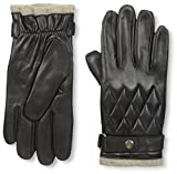 Franklin Tailored Men's Nappa Snap Closure Glove, Black, L