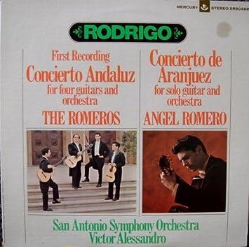Amazon.com: Rodrigo The Romeros: Concierto Andaluz ...