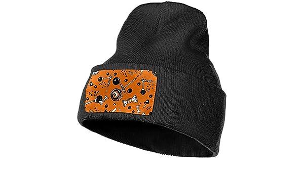 Field Rain Hallowmas Unisex 100/% Acrylic Knit Hat Cap Rider Soft Beanie Hat Woolen Hat