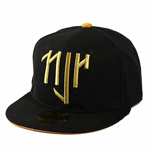 con Fanático Plano amarillo Fútbol Amarillo de innermar Visera Un Sombrero Exterior del Gorra WEII Béisbol de Tamaño Gorra g8qwFxYP