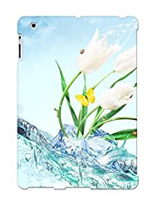 Durable Protector Case Cover With Water For Powerpoint Hot Design For Ipad 2/3/4 (ideal Gift For Lovers)