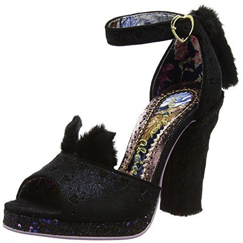 Kitty nero nero Sandalo Paws Scelta caviglia donna alla cinturino irregolare da R1qS5Fw