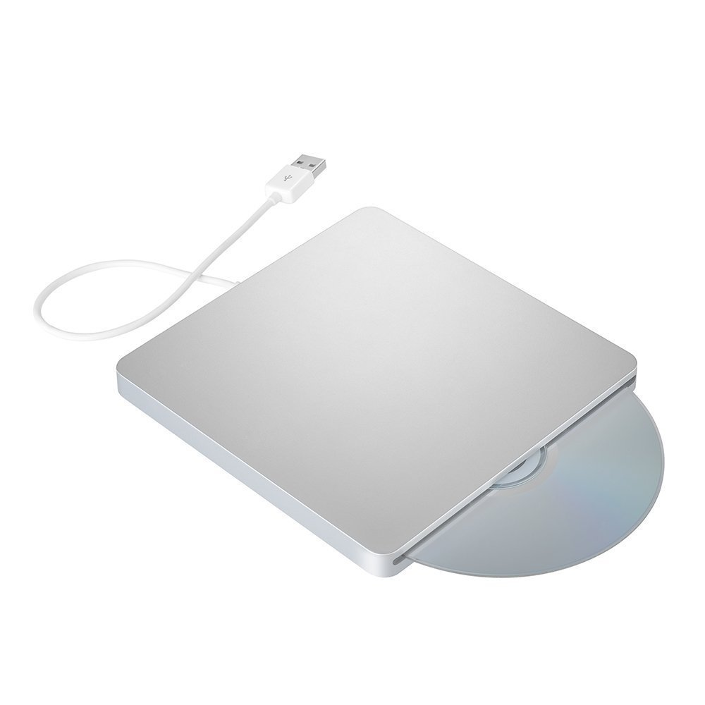 DoHonest ZSMJ External USB Slot DVD VCD CD Driver DVD-RW CD-RW Burner Superdriver for MacBook Air,MacBook Pro (Silver) by DoHonest (Image #3)