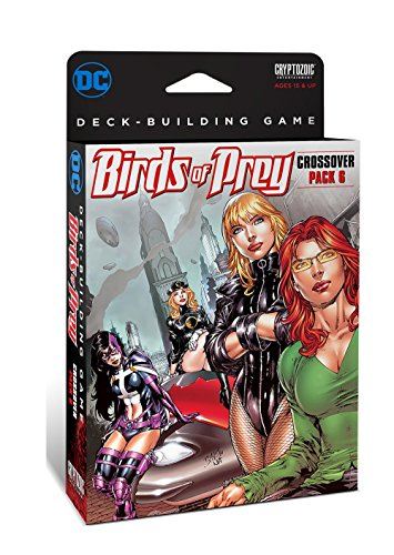 Cryptozoic Entertainment DC Comics Dbg Crossover Pack 6 Birds of Prey Board-Games - Entertainment Center Plan