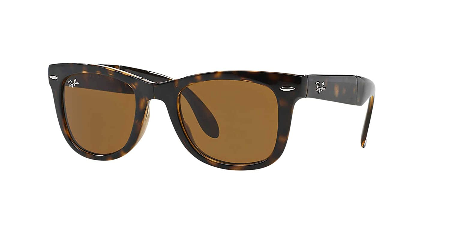 f308fb0bcd Ray-ban RB4105 50 710 Women s Sunglasses Brown Size 50 Millimetres   Amazon.co.uk  Clothing