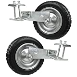 PU Tire Wheels for AGORA Premier Pro Soccer Goals - Set of 2