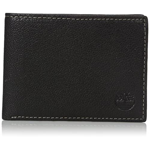 Timberland Men's Leather RFID Blocking Passcase Security...