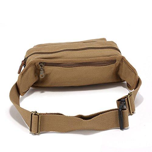 deporte de hombres bolsillo/Recreación al aire libre mochila/Paquete del pecho/ bolso de múltiples funciones hombre colgado-A A