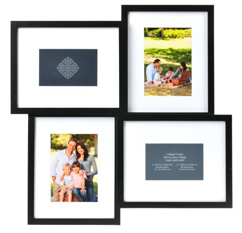 Amazon.com - Carr\'s 4-Opening Collage Frame, 8-Inch by 10-Inch -