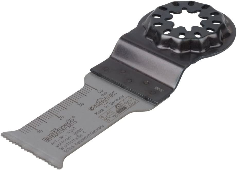 28 mm Schnittbreite 1 V Starlock-Aufnahme Wolfcraft 4241000 Tauchs/ägeblatt Expert BiM gerade