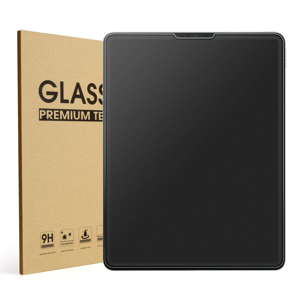 Mothca Matte Screen Protector for iPad Pro 11/10.9 Inch 2021/2020/2018, Anti-Glare & Anti-Fingerprint No Dazzling 9H Hardness HD Tempered Glass Shield for iPad Pro 11, Smooth as Silk Amazing Touch Best Companion for Games