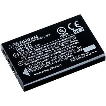 Amazon.com: Cámaras Digitales Fujifilm NP-60 Batería de ion ...