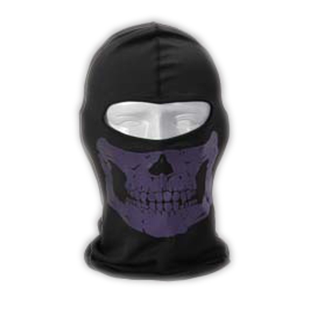 Sport Outdoor Reflective Skull Balaclava Mask with Quick Drying Sunproof Funtion for Summer Season