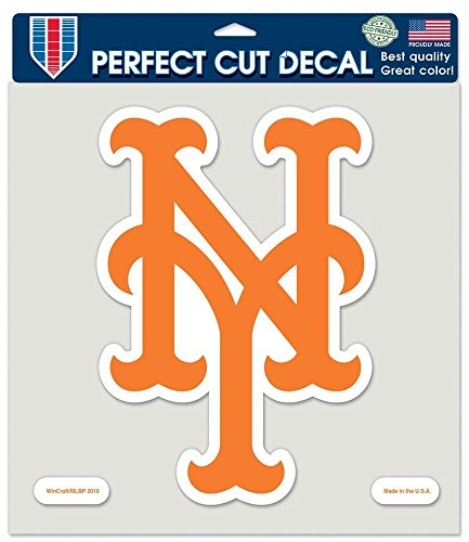 Wincraft MLB New York Mets 79774010 Perfect Cut Color Decal, 8