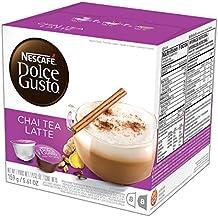 NESCAFÉ Dolce Gusto Coffee Capsules – Chai Tea Latte– 48 Single Serve Pods, (Makes 24 Specialty Cups)   48 Count