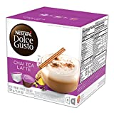 NESCAFÉ Dolce Gusto Coffee Capsules – Chai Tea Latte– 48 Single Serve Pods, (Makes 24 Specialty Cups)   48 Count