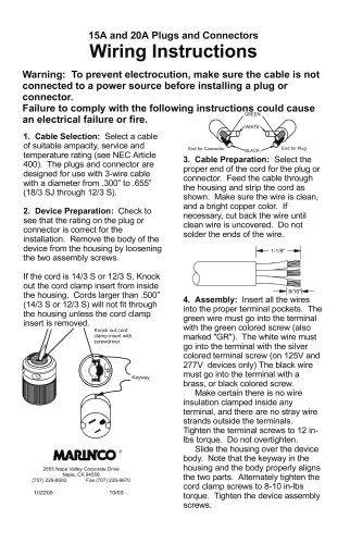 Marinco trolling motor plug diagram radio diagram for Marinco trolling motor plug wiring