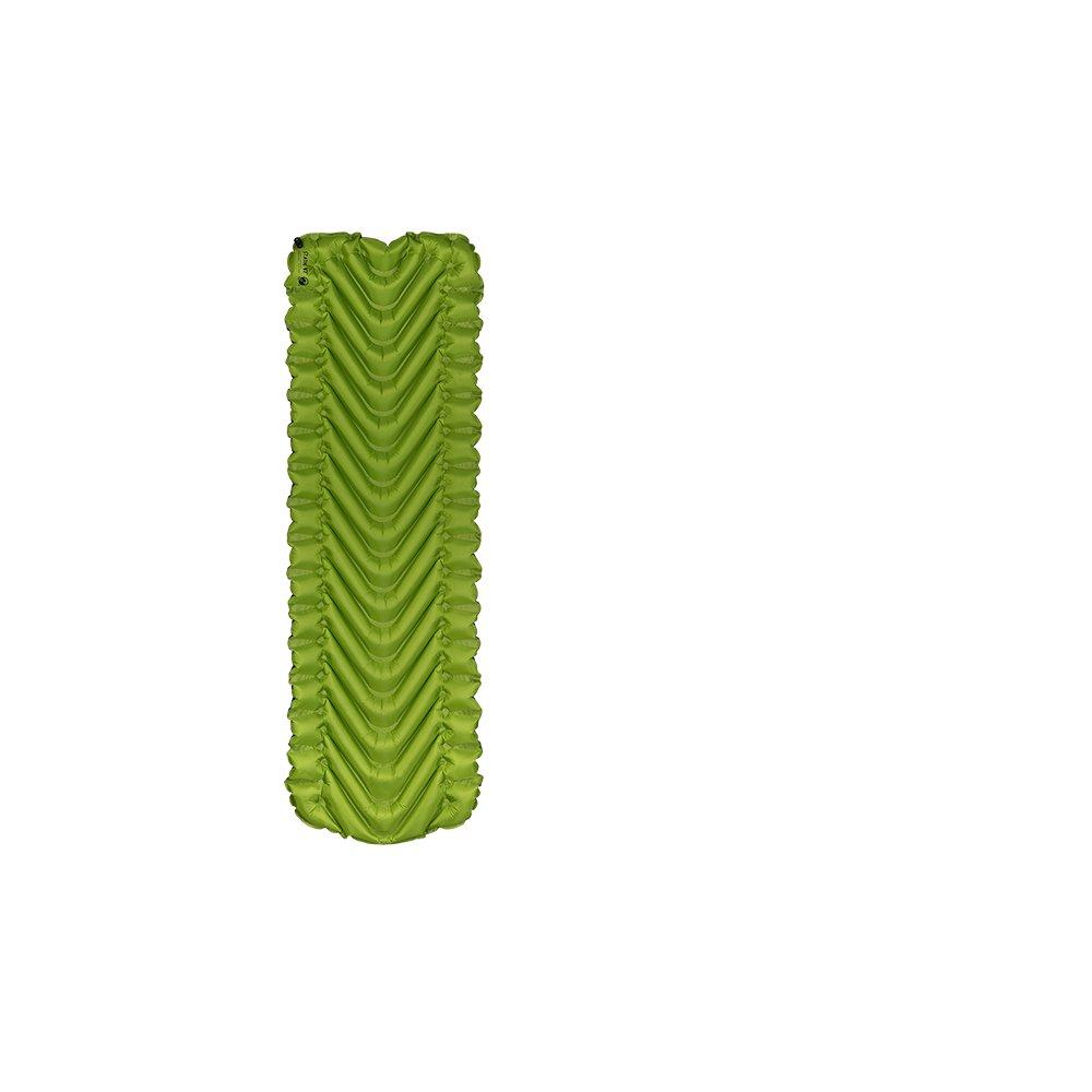 Klymit Static V2 Advanced Body Mapped Superlight Inflatable Sleeping Pad, Light Green/Gray, Regular by Klymit