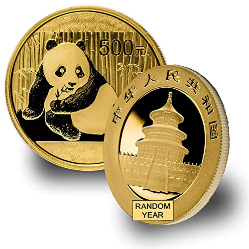1982 CN - 2015 1oz Gold Panda Gold Brilliant Uncirculated Random Year